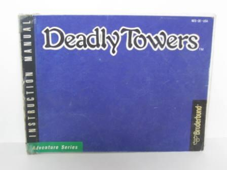 Deadly Towers - NES Manual